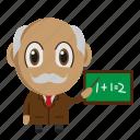 avatar, chibi, profession, school, teacher icon