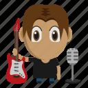 avatar, chibi, music, musician, profession