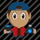 avatar, chibi, photographer, photography, profession icon