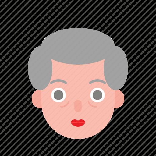 Aunty, avatar, female, grandma, older, woman icon - Download on Iconfinder