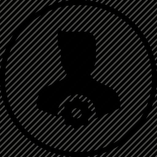 avatar, human, male, man, setting, user icon