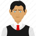 business man, man, people icon