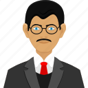 administrator, business man, consultant, man, user icon
