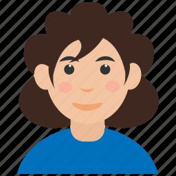 avatar, girl, girl avatar, user icon