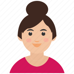 avatar, girl, teenager icon