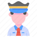 avatar, people, police, profession, user icon