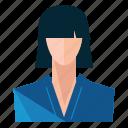 asian, avatar, woman, account, person, profile, user