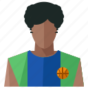 avatar, basketball, man, account, person, profile, user