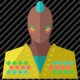 account, avatar, colourful, man, person, profile, user icon
