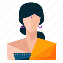 avatar, hindu, woman, account, person, profile, user