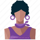 avatar, hispanic, woman, person, profile, user