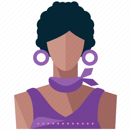 avatar, hispanic, person, profile, user, woman icon