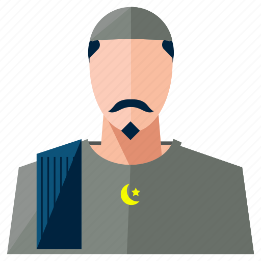 account, avatar, man, muslim, person, profile, user icon