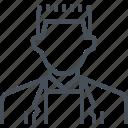 avatar, entrepreneur, male, man, profile, young icon