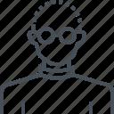 avatar, computing, male, man, profile, programmer, social icon
