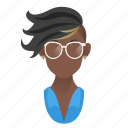 african, artist, avatar, beautiful, celebrity, character, dancer, famous, fashion, female, girl, mascot, model, people, person, singer, star, team member, testimonial, user, woman icon