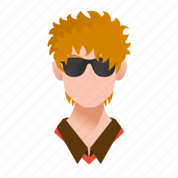 avatar, boy, celebrity, character, famous, fashion, glasses, guy, handsome, male, man, mascot, model, people, person, rich, singer, star, team member, testimonial, user icon