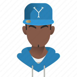 african, american, avatar, boy, cap, celebrity, character, dancer, famous, gangster, guy, handsome, hat, hip hop, male, man, mascot, people, person, rapper, singer, star, team member, testimonial, user icon
