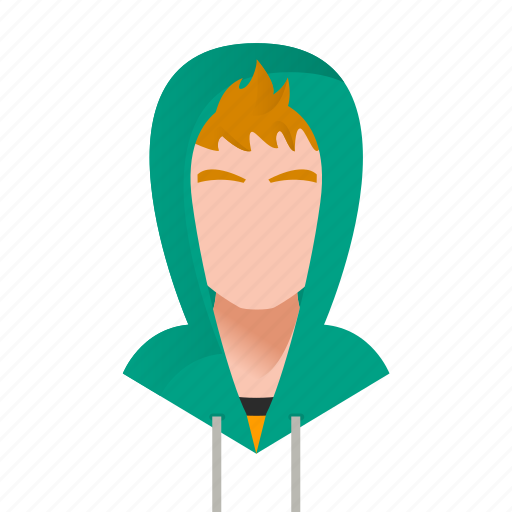 avatar, boy, character, gangster, guy, handsome, hood, hooligan, male, man, mascot, people, person, sport, team member, teen, testimonial, user, young icon