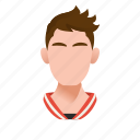 avatar, boy, character, guy, handsome, male, man, mascot, people, person, run, sport, sportsman, sporty, team member, testimonial, user icon