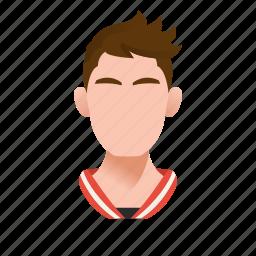 avatar, boy, character, guy, handsome, male, man, mascot, people, person, run, sport, sportsman, sporty, team member, testimonial, user icon