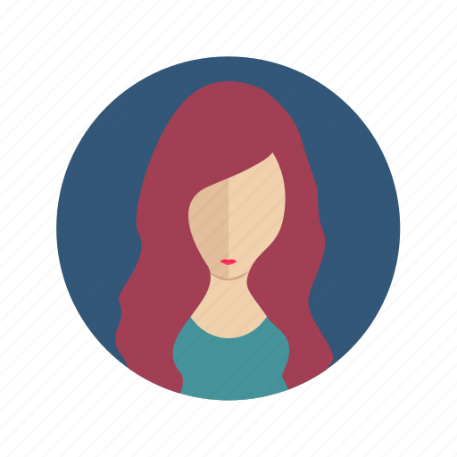 Avatar, user, woman, account, female, person icon - Download on Iconfinder