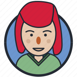 avatar, girl, sad, teen age icon