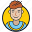 avatar, guy, man, stylish icon