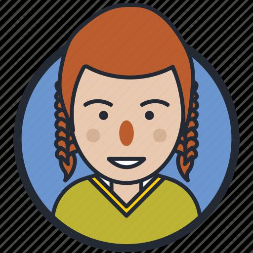 avatar, girl, profile, user icon