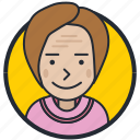 account, avatar, old lady, profile icon