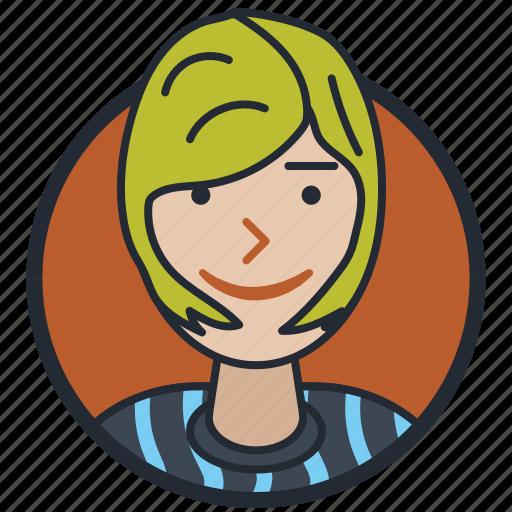 avatar, avatar girl, girl, user icon