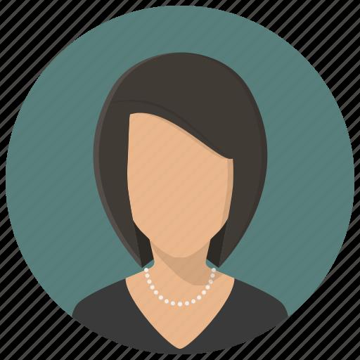 account, avatars, celebrity, female, profile, user, woman icon
