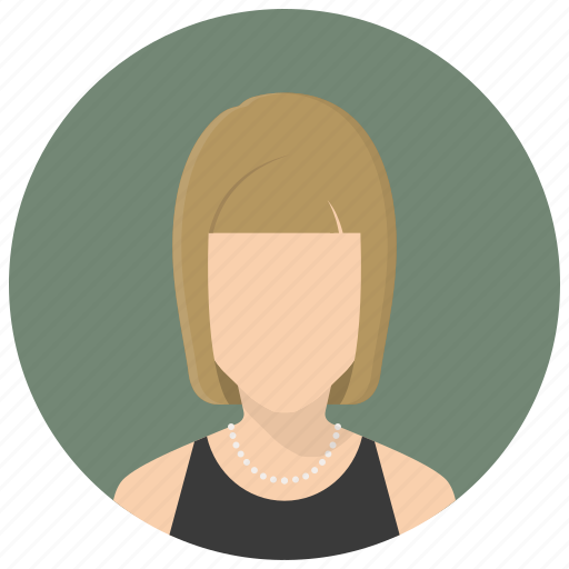account, avatar, female, human, profile, user, woman icon