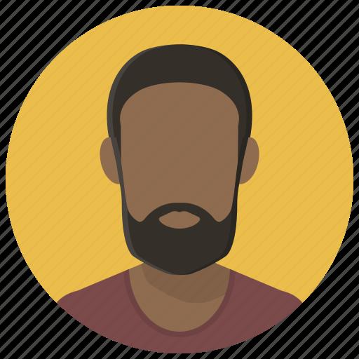 account, avatar, client, man, person, profile, user icon