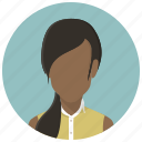 account, avatar girl, female, human, profile, user, woman icon