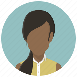 account, avatar girl, female, human, profile, user, woman icon