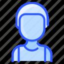 african, avatar, man, undershirt, user
