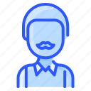 african, avatar, man, moustache, old, user