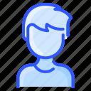 asian, avatar, man, tshirt, user