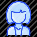 asian, avatar, bob, hairstyle, user, woman