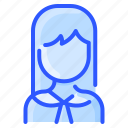 asian, avatar, sailor, school, uniform, user, woman