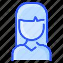 asian, avatar, hair, straight, user, woman