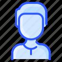 avatar, man, shirt, user, white