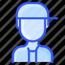 avatar, hat, man, snapback, user, white