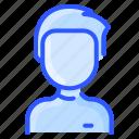 avatar, man, turtleneck, user, white
