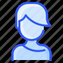 avatar, hair, short, user, white, woman