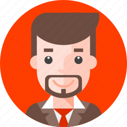 avatar, business, business person, male, man, office, person icon