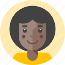 avatar, disco, female, girl, lady, person, woman icon