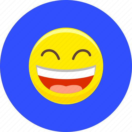 emoticon, emotion, happy, laugh, lol, smile, smiley icon