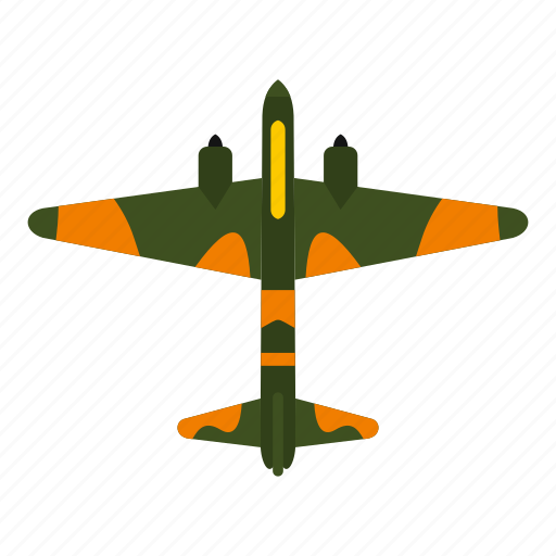 air, aircraft, aviation, fighter, military, plane, transport icon